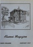 1947. V1.01. January by Alumni Association of Hope College