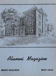 Hope College Alumni Magazine, Volume 2, Number 1: May 1948