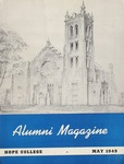 1949. V2.03. May by Alumni Association of Hope College