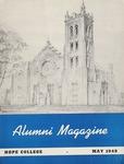 Hope College Alumni Magazine, Volume 2, Number 3: May 1949