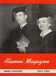 Hope College Alumni Magazine, Volume 3, Number 3: July 1950