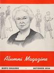 1950. V3.04. October by Alumni Association of Hope College