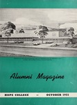 Hope College Alumni Magazine, Volume 4, Number 4: October 1951