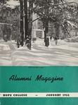 Hope College Alumni Magazine, Volume 5, Number 1: January 1952