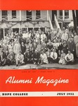 Hope College Alumni Magazine, Volume 5, Number 3: July 1952