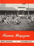 Hope College Alumni Magazine, Volume 5, Number 4: October 1952