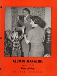 1957. V10.02. April by Alumni Association of Hope College