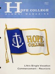 Hope College Alumni Magazine, Volume 14, Number 3: July 1961
