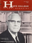 1961. V14.04. October by Alumni Association of Hope College