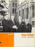 1964. V17.03. July by Alumni Association of Hope College