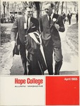 1965. V18.02. April by Alumni Association of Hope College