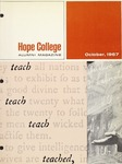 1967. V20.04. October by Alumni Association of Hope College