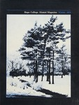 Hope College Alumni Magazine, Volume 25, Number 1: Winter 1972
