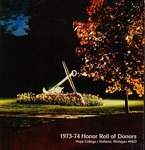Hope College Alumni Magazine, Volume 27, Number 4: Fall 1974 by Alumni Association of Hope College