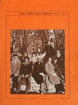 Hope College Alumni Magazine, Volume 27, Number 1: Winter 1973/74 by Alumni Association of Hope College