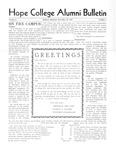 1932. V01.01. December. Alumni Bulletin.