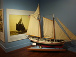 From Craft to Industry: The Boat Builders of Holland (Model Ship and Photo in Second Hall)
