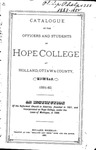 1881-1882. Catalog.