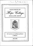 1901-1902. Catalog.