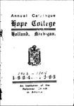 1903-1904. Catalog.
