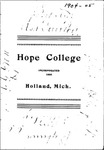 1904-1905. Catalog.