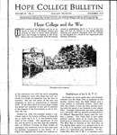 1918. V56.03. November Bulletin.