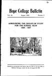 1926. V64.02. August Bulletin.