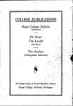 1931-1932. V70.01. February Bulletin.
