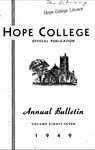 1948-1949. V87.01. February Bulletin.