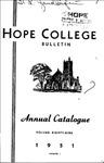 1950-1951. V89.01. April Bulletin.