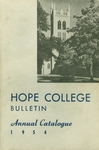 1954. Bulletin. Annual Catalogue.