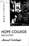 1956-1957. V95.01. March Bulletin.