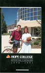 1990-1991. Catalog. by Hope College