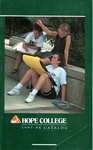 1993-1994. Catalog. by Hope College
