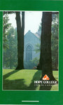1995-1996. Catalog. by Hope College