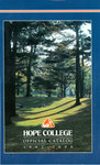 1997-1998. Catalog. by Hope College