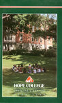 1998-1999. Catalog. by Hope College