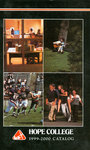 1999-2000. Catalog. by Hope College