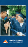 2001-2002. Catalog. by Hope College