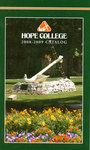 2008-2009. Catalog. by Hope College