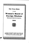 62nd Annual Report of the Woman's Board of Foreign Missions