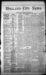Holland City News, Volume 1, Number 3: March 9, 1872