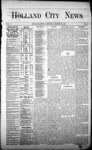 Holland City News, Volume 1, Number 6, March 30, 1872