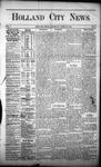 Holland City News, Volume 1, Number 9: April 20, 1872
