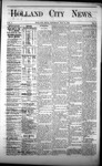 Holland City News, Volume 1, Number 13: May 18, 1872