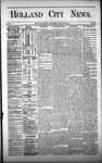 Holland City News, Volume 1, Number 14: May 25, 1872