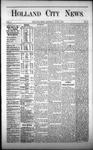 Holland City News, Volume 1, Number 15: June 1, 1872