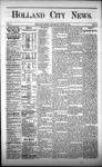 Holland City News, Volume 1, Number 17: June 15, 1872
