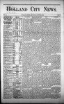 Holland City News, Volume 1, Number 18: June 22, 1872