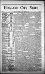 Holland City News, Volume 1, Number 20: July 6, 1872